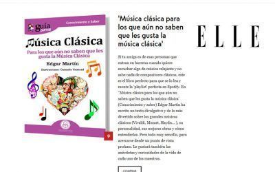 GuíaBurros: Música clásica en la revista de moda, belleza y entretenimiento ELLE
